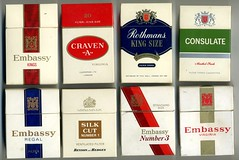 Excise duty on cigarettes Parliament Vermont