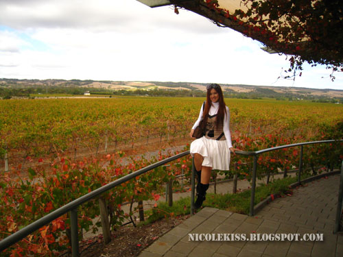 me overlooking hugh hamilton vineyard