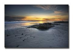 Farewell winter? (Jo-Ann Stokes) Tags: ocean winter sunset beach seashells rocks waves atlanticocean bigbay blaauwberg dyinglight abigfave platinumphoto ultimateshot