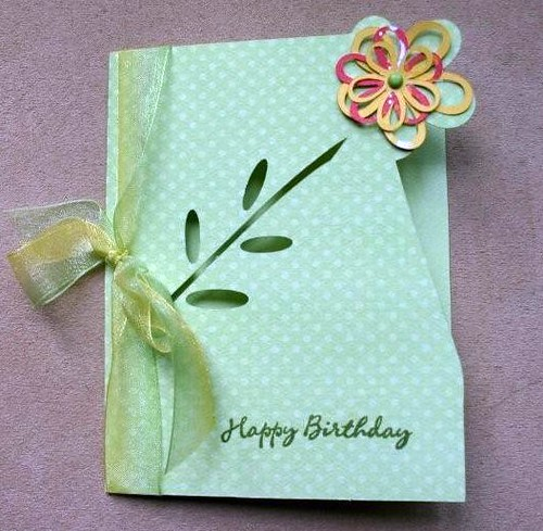 Free File: Flower card