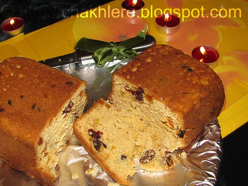 Christmas Fruit cake...!!!