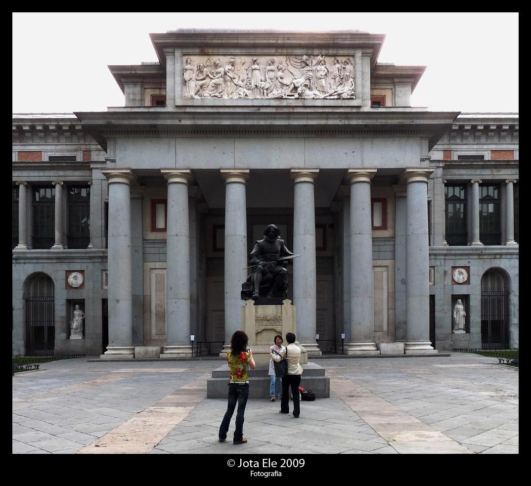 Museo del Prado (Fachada central)