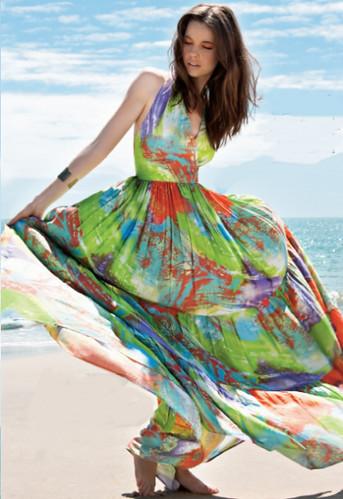 vestidos para o verão