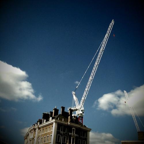 London cranes