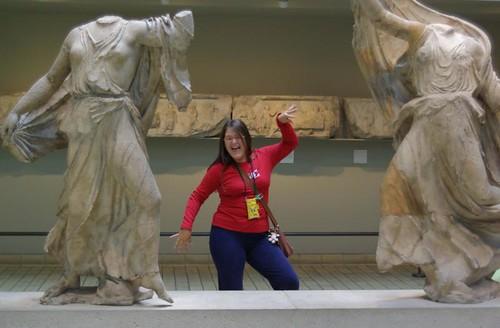 british museum pose
