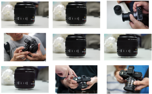 Panasonic GF1 user hands-on review at ClubSNAP, Sinagpore