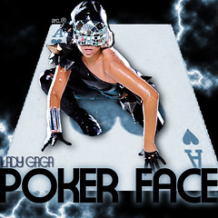 Poker Face.. Lady GaGa (Cervaantes) Tags: people woman black face k lady photo amazing nice mujer dress heart mask o c poker gloves blond f r e p cartas ac spades gaga pokerface corazones trebol antifaz pokar a as ladygaga