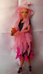happy pink  halloween !!!!!!!!!!! (napudollworld) Tags: girls halloween fashion witch ghost barbie scene characters fever
