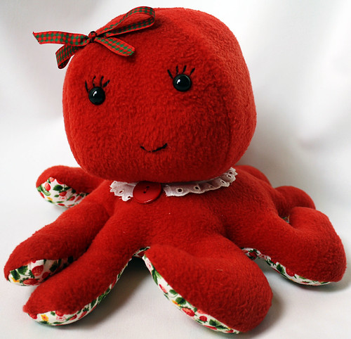 Strawberry Red Octopus