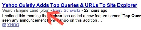 Google News Knows Blogs?