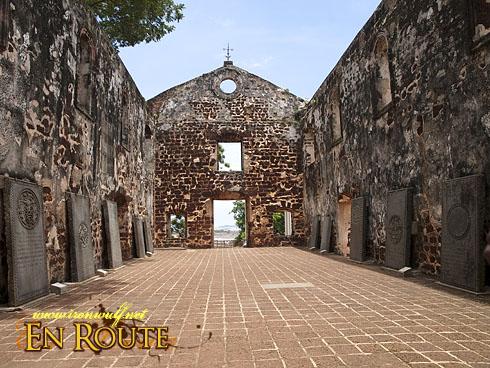 Malacca St Pauls Church Ruins