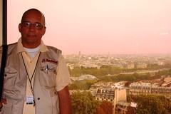 Sosa en Torre Eiffel