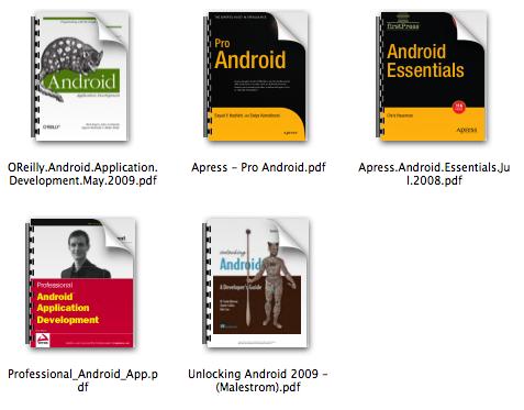 5 ibros recomendados para aprender sobre Android
