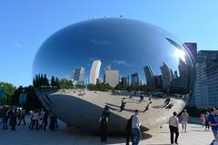 P1010400 (Ferg) Tags: park city cloud chicago hot dogs architecture illinois gate windy millennium kapoor anish