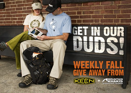 KEEN and Mountain Khakis 'Get In Our Duds' wardrobe contest!