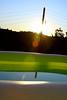 Couché de soleil à la piscine (Fred Sorin) Tags: sunset summer france water pool canon wire paca pole flare provence 83 2009 var contrejour bras cotcpersonalfavorite 40d canon40d fredsorin