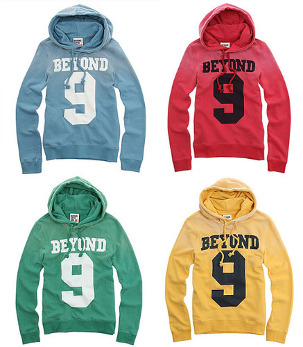 I saw these hoodies in the SBS Idol Show being worn by the wonderful Girls'