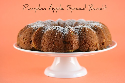Pumpkin Apple Spiced Bundt Cake - I Like Big Bundts