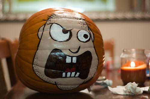 The Angry Pumpkin (La calabaza enfadada)