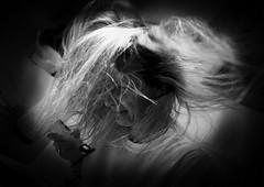 to dry the hair (wolfgangfoto) Tags: blackandwhite bw hair dry wolfgangfoto