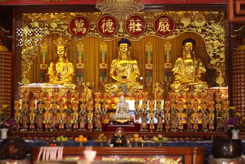 Bhuddist Temple Interior