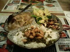 獅子頭菜飯