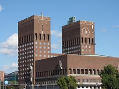 Oslo City Hall (Oslo rdhus) (Hazboy) Tags: oslo norway norge europa europe cityhall norwegen norwegian noruega government norvegia radhus noorwegen norsko hazboy hazboy1 lanorvge