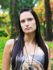 Barbi (Anett Budai) Tags: autumn portrait woman girl beauty face female canon colorful colours bokeh budapest longhair barbi npliget 40d luxtop100