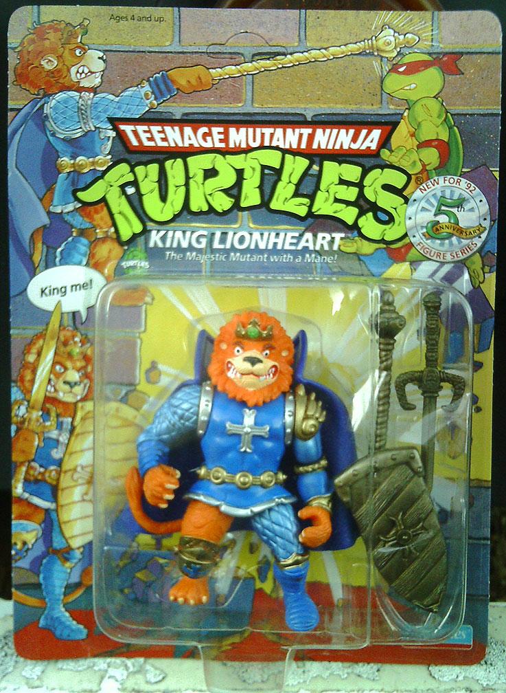 TEENAGE MUTANT NINJA TURTLES::  KING LIONHEART i (( 1991 - 1992 ))