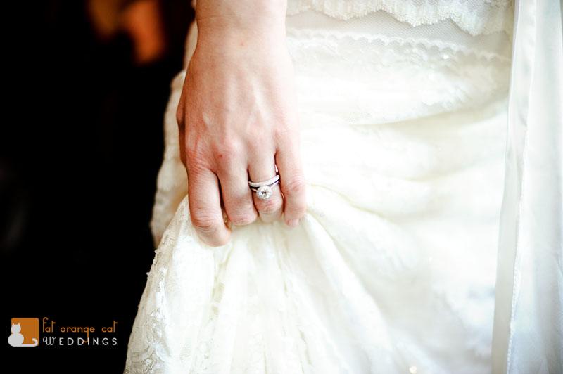 brides wedding rings