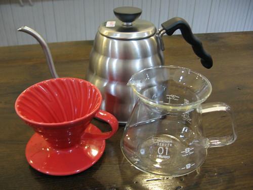 v60-1: 1 cup setup