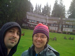 at the Lake Quinault Lodge