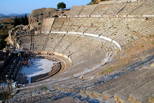 the great theater, ephesus