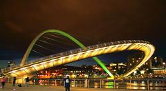 Millennium bridge - Side view (kkrajput80) Tags: bridge delete10 delete9 delete5 delete2 delete6 delete7 delete8 delete3 delete delete4 millennium