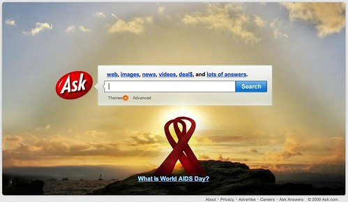 Ask.com World AIDS Day