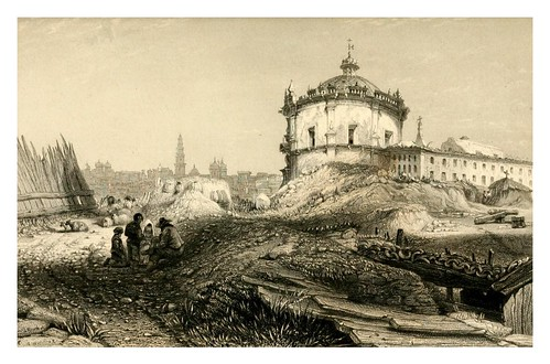 042-Convento de Serra en Oporto-The tourist in Portugal 1839- James Holland
