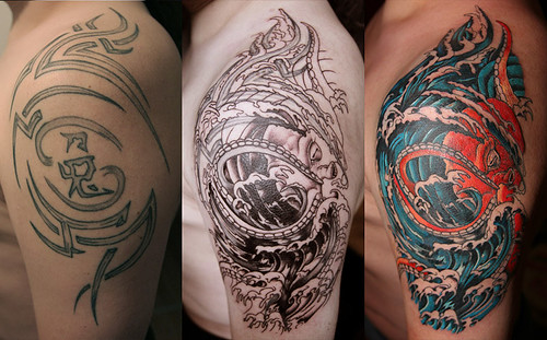 Cover-Up Tattoo by Maze