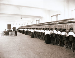 Telephone Operators Circa 1914
