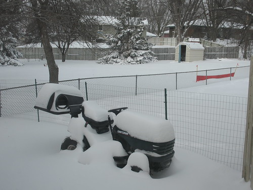 1st significant snowfall for Dec2009
