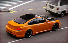 Extreme Makeover (anType) Tags: orange black car germany asia body wide exotic german malaysia bmw modified kit kualalumpur rims tuning luxury m6 coupe v8 sportscar modded 6series widebody lumma tuned bodykit