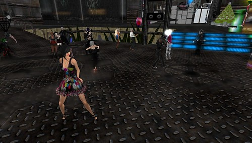 raftwet at club industry in second life