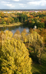 Rotehorn Park Magdeburg (Prinz Wilbert) Tags: autumn fall yellow jaune automne germany europa europe h