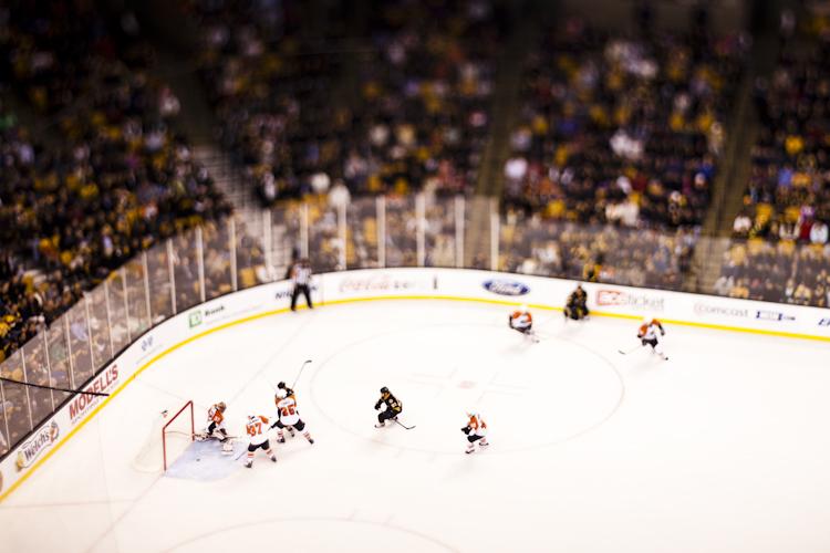 Bruins v. Flyers - Bruins Goal
