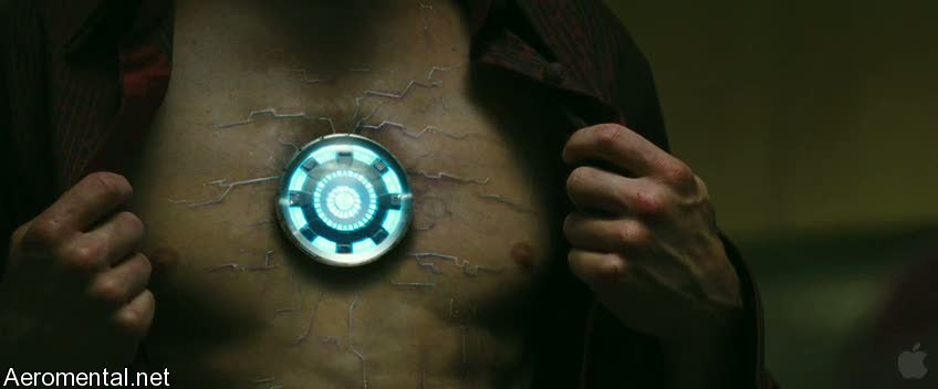 Iron Man 2 Trailer 2 Tony Stark veins