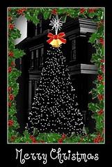 Seasons Greetings (Jan Jan's) Tags: lights christmastree holly merrychristmas happynewyear seasonsgreetings
