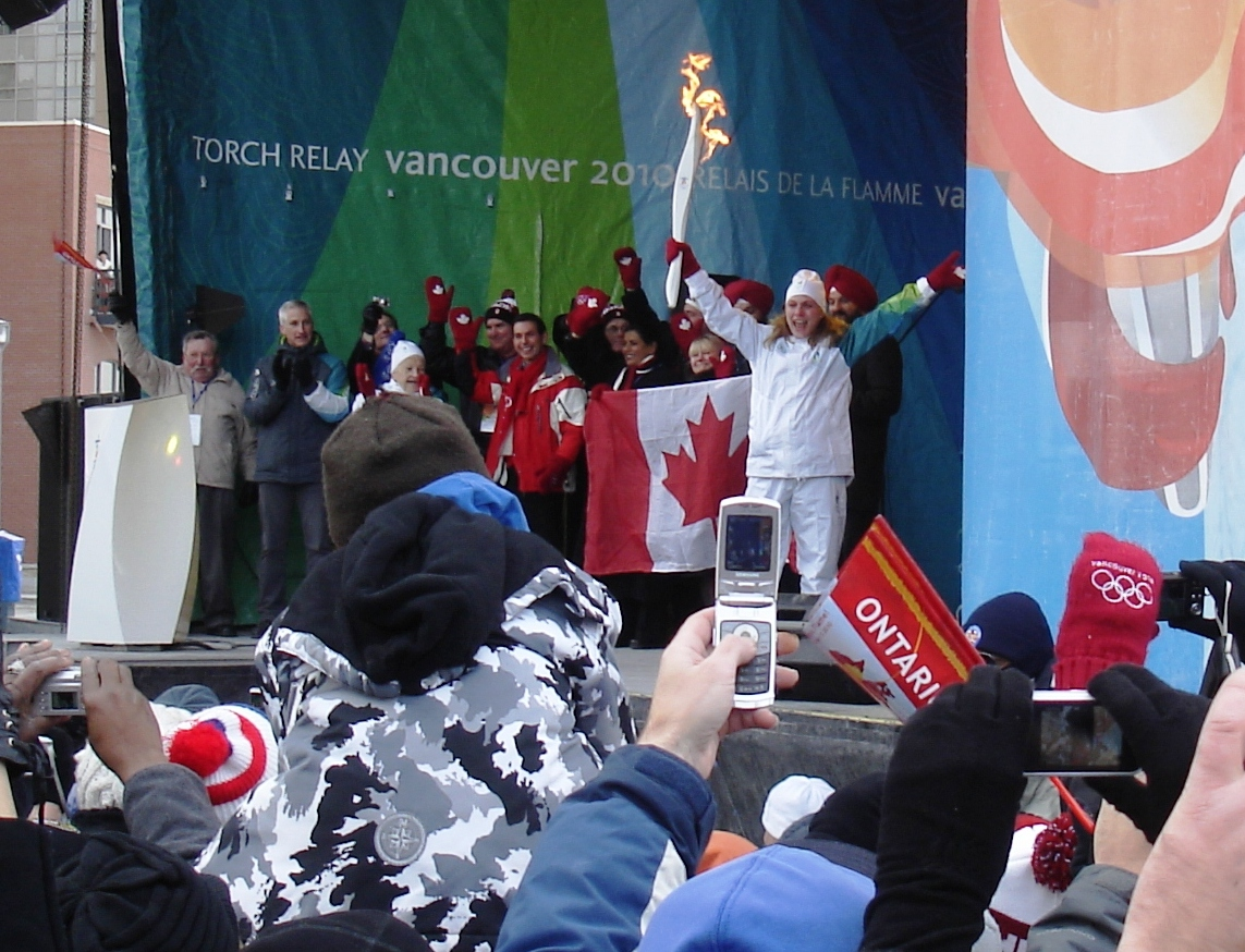 Olympic Torch in Mississauga 06ii