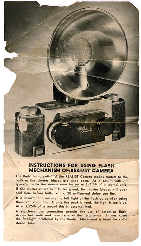 David White Stereo Realist Camera