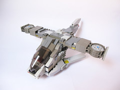 Halo Hornet (Regular Version) (Stylo_) Tags: lego aircraft halo assault future hornet vtol