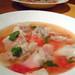 ワンタンのトマトスープ