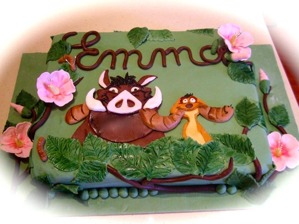 Pumba Cake: The World's Best Photos Of Cake And Pumba
